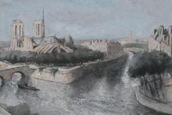 Макс Жакоб. Вид на Сену