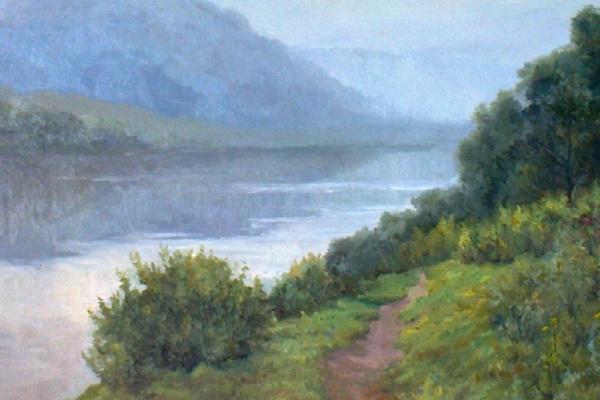 Глеб Борисович Смирнов. Туман над рекой