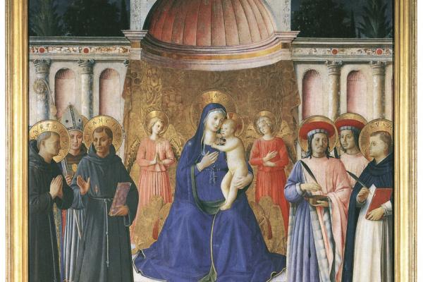 Фра Беато Анджелико. Алтарь Боско а Фрати. Около 1450–1451