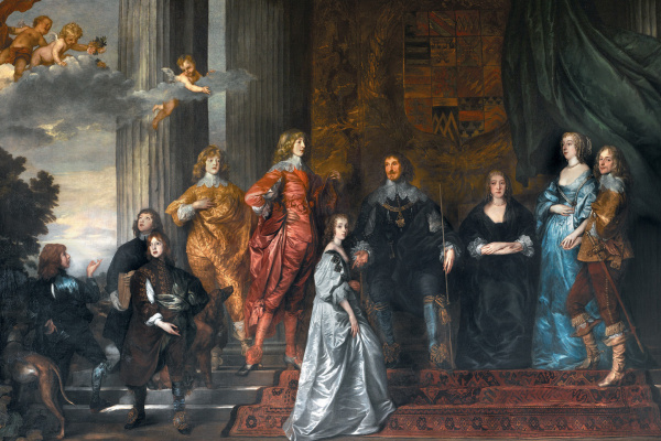 Anthony van Dyck. Philip Herbert, 4th Earl of Pembroke, with his Family