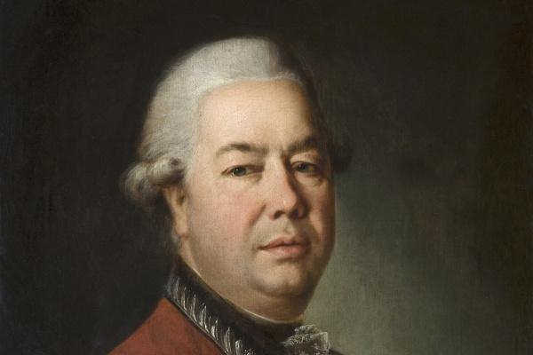 Dmitry Grigorievich Levitsky. Portrait of engineer-General M. I. Mordvinov