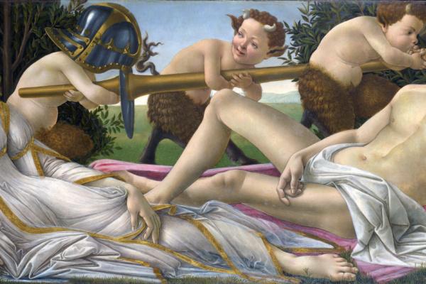 Sandro Botticelli. Venus and Mars