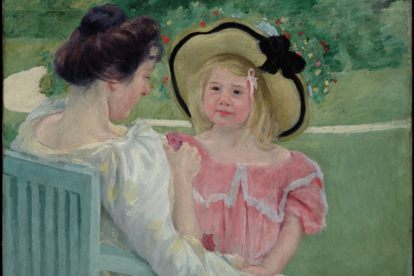 Mary Cassatt. In the garden