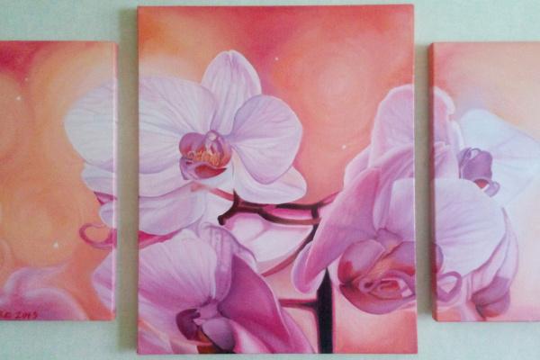 Мила Литвиненко. Орхидеи