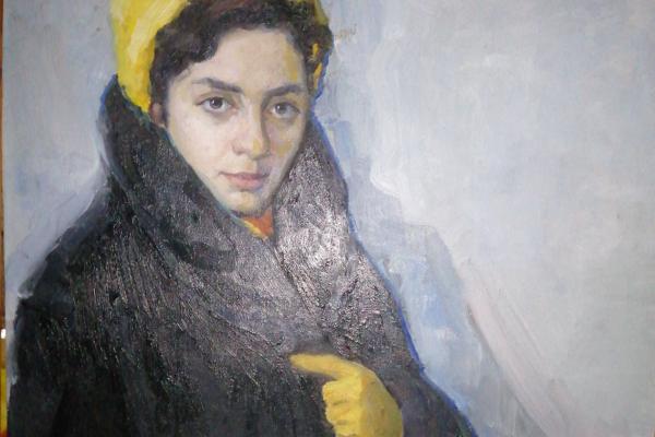 Pavlyuk. A. C. Spouse. artist. 1936. 1965
