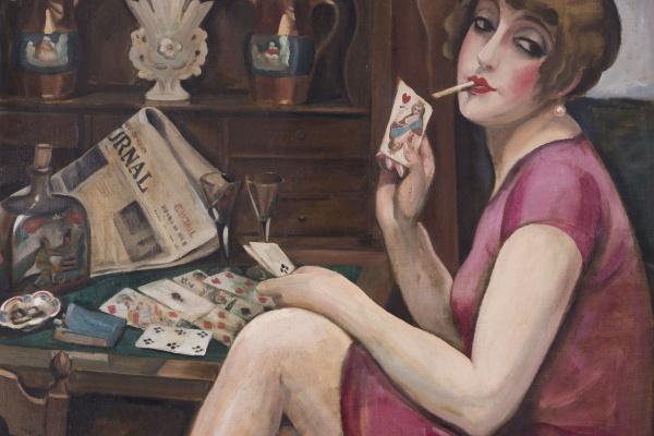 Gerda Wegener. Queen of hearts (Lily)