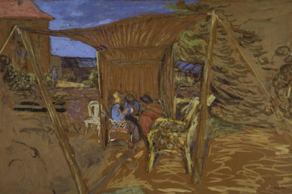 Jean Edouard Vuillard. The Tent