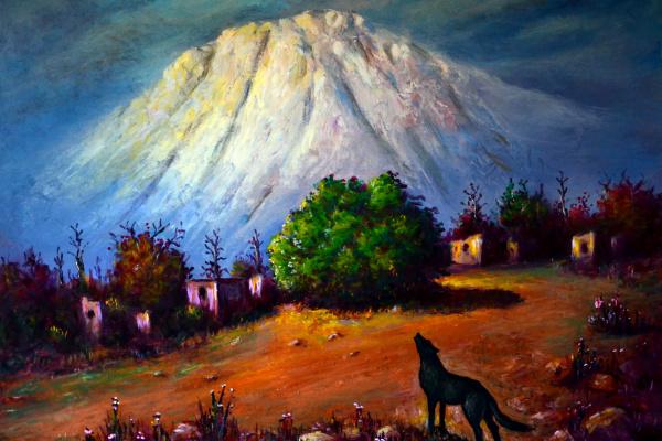 Наджаф Мамедов. Брошенное село