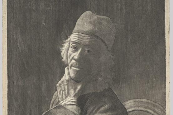 Jean-Etienne Liotard. Self-Portrait