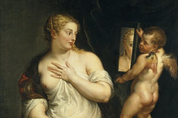Питер Пауль Рубенс. Венера и Купидон с зеркалом