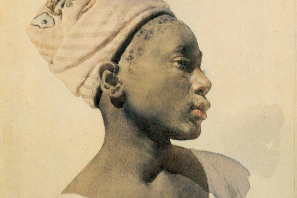 Lev Samoilovich Bakst (Leon Bakst). Young dahomean