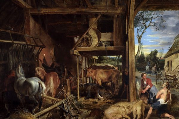Peter Paul Rubens. The return of the prodigal son