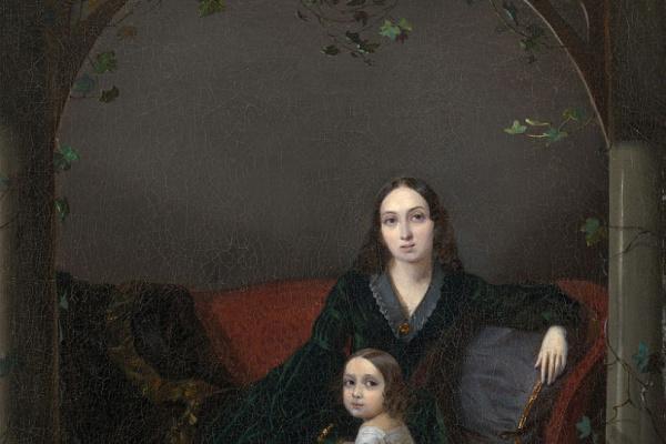 Петр Захаров-Чеченец. Семейный портрет