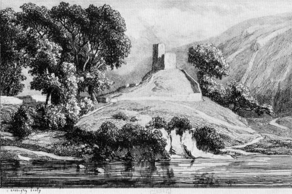 Charles-Francois Daubigny. Castle Zhelo