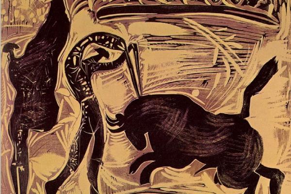 Пабло Пикассо. Бандерильи