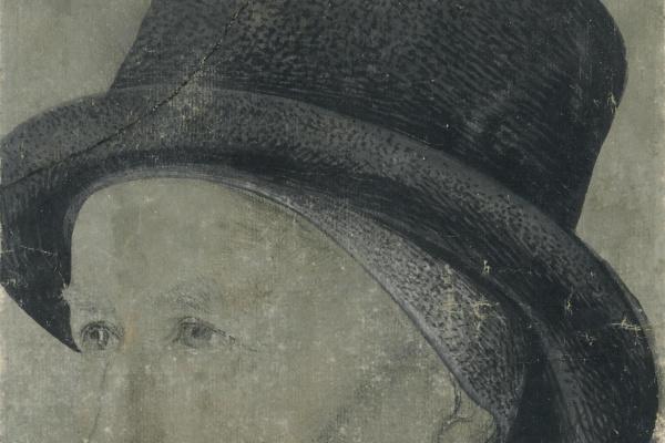 Жан Фуке. Мужской портрет.
