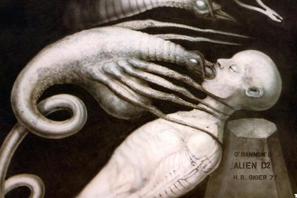 Hans Rudolph Giger. Alien