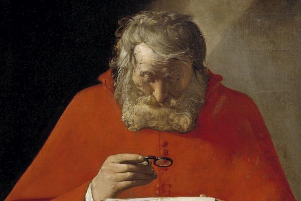 Жорж де Латур. Святой Иероним, читающий письмо