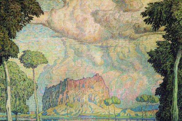 Konstantin Fedorovich Bogaevsky. Tropical landscape