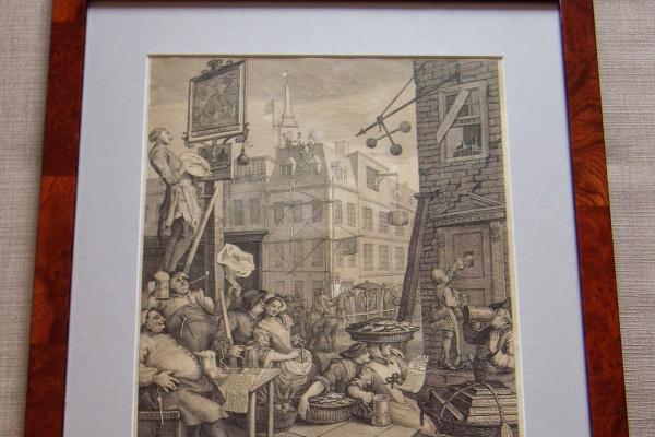 William Hogarth. Beer Street.