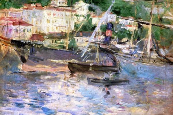 Берта Моризо. Порт в Ницце