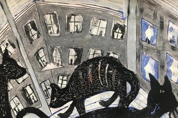 Leonid Pshenov. Cats