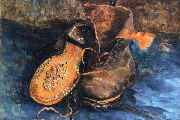 Vincent van Gogh. Pair of boots