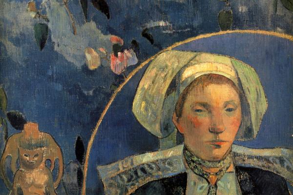 Paul Gauguin. Beautiful angel