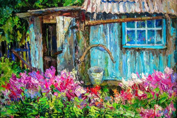 Николай Николаевич Клековкин. ,,Во саду-ли в огороде