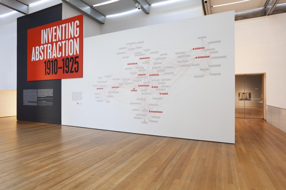 Стенд, открывавший выставку в 2012 году