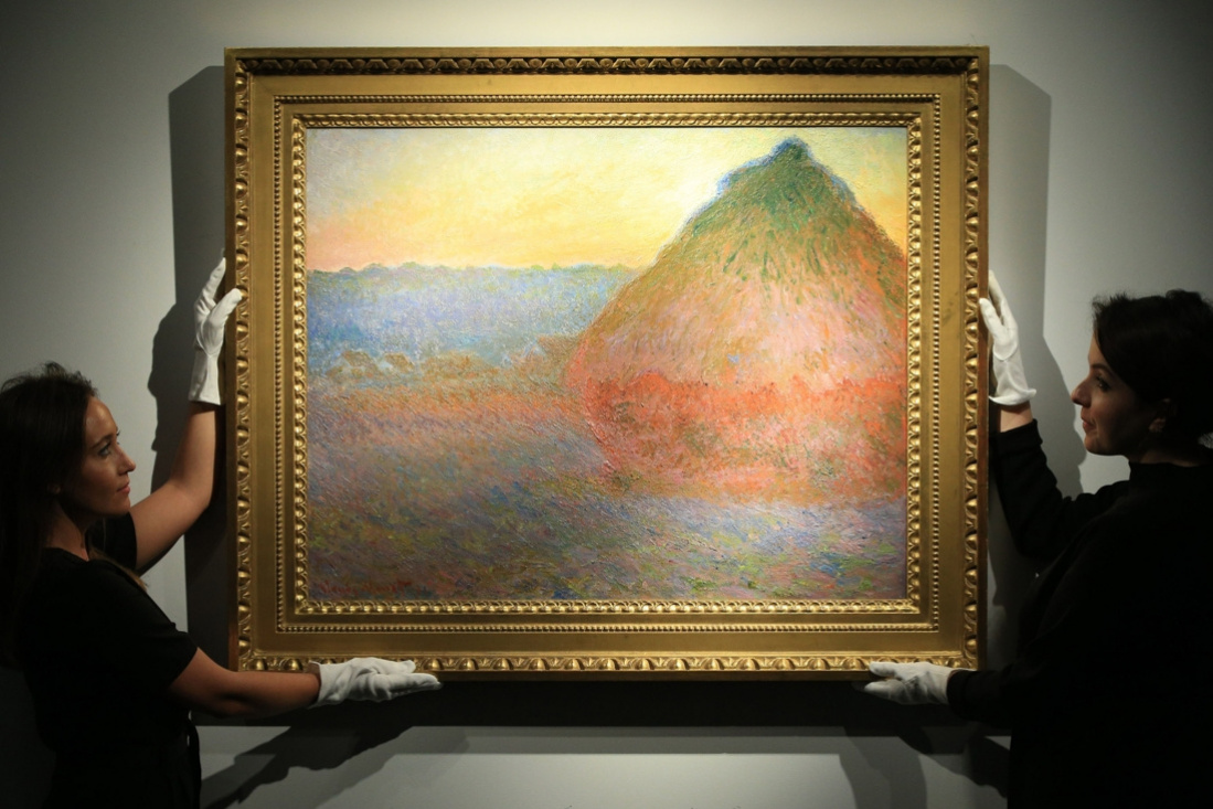 Ten most expensive paintings by Claude Monet