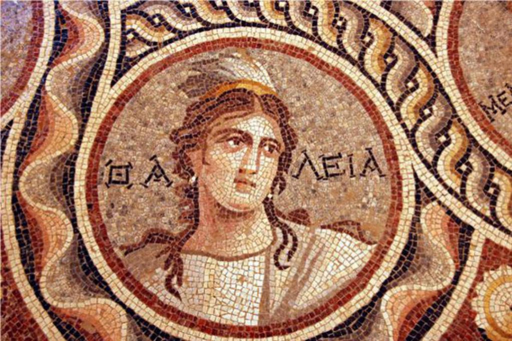 В Турции нашли античные мозаики: музы и боги отлично сохранились