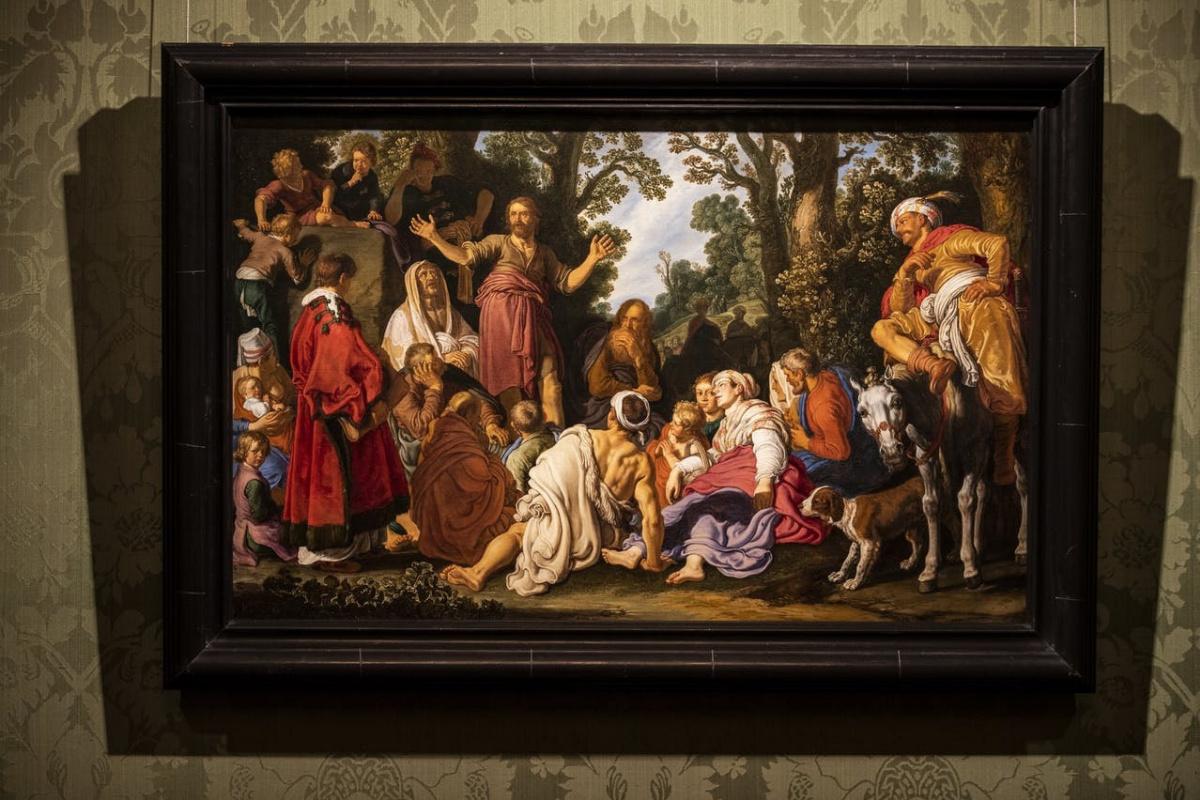Картину самого влиятельного учителя Рембрандта приобрёл Маурицхёйс