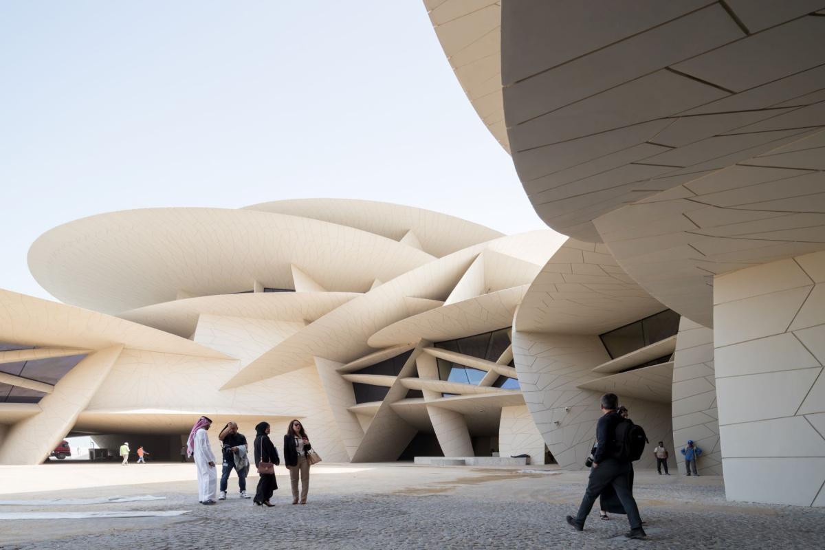 Национальный музей Катара - один из номинантов на премию LCD Awards за лучшую архитектуру. Источник: