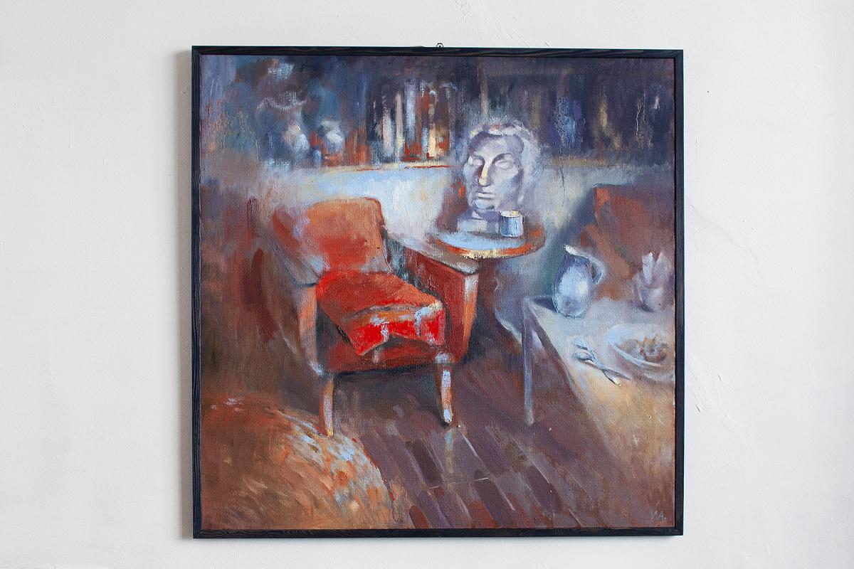 "Author Ikonnikova Alina. ""Tea room in the workshop"""