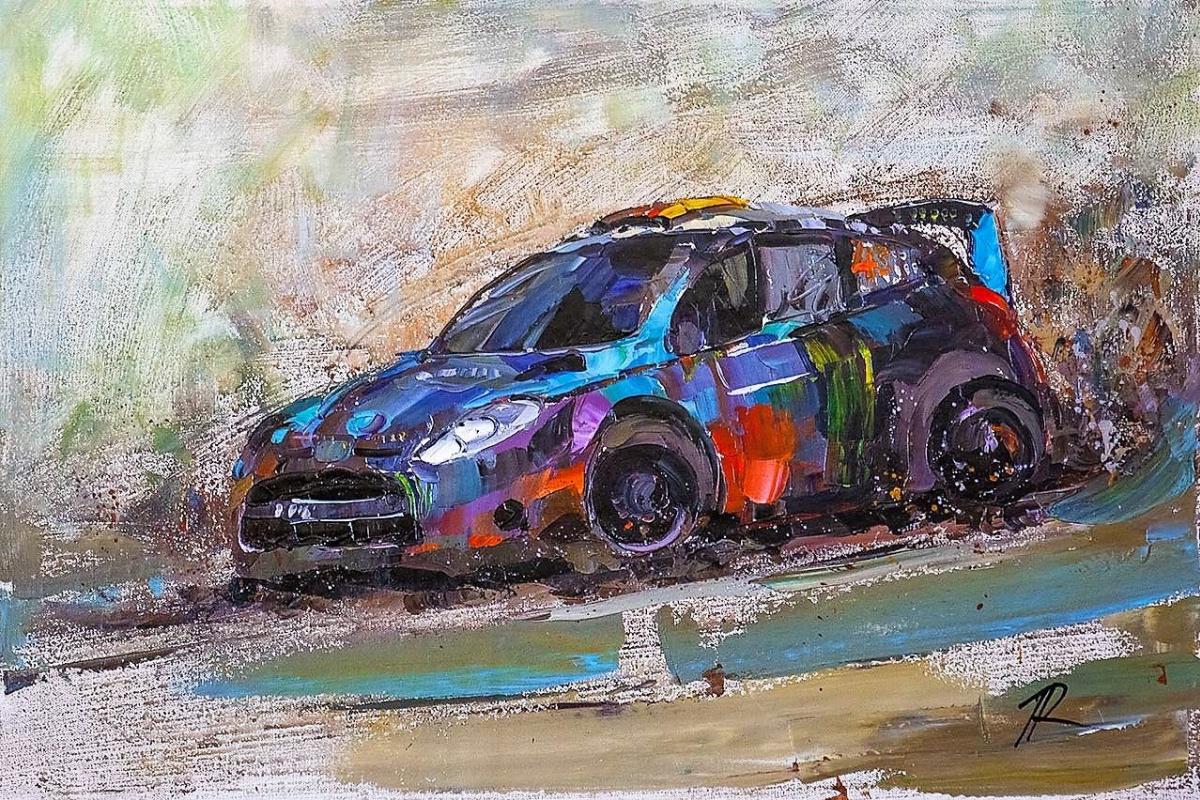 Jose Rodriguez. Rally. Extreme Race