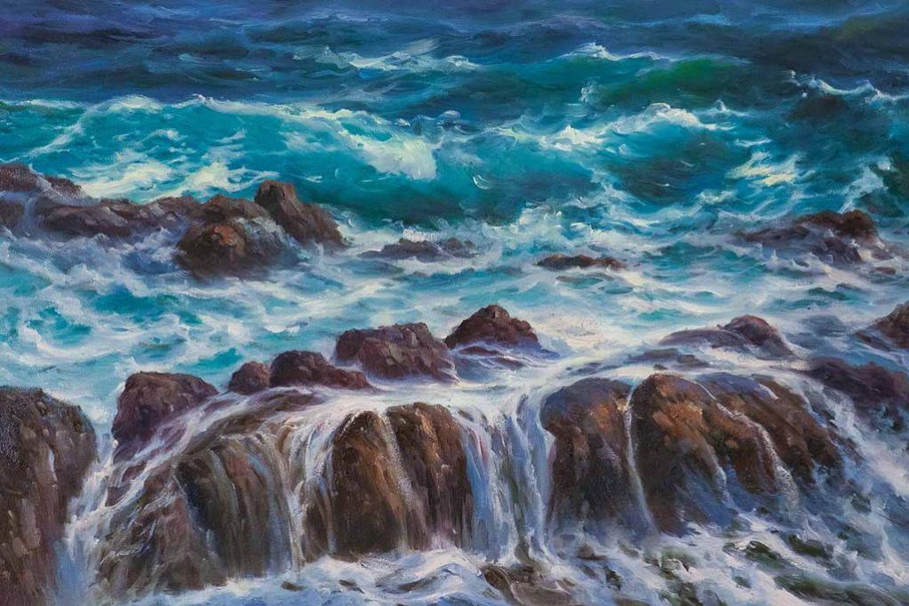 Daria Feliksovna Lagno. In the foamy sea ... N2