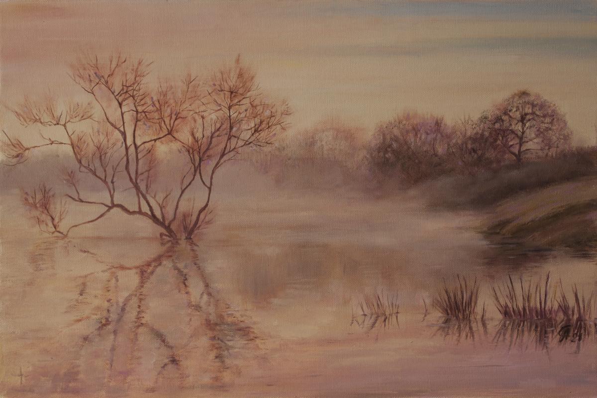 Andrey Nikolaevich Semenov. Туман на реке