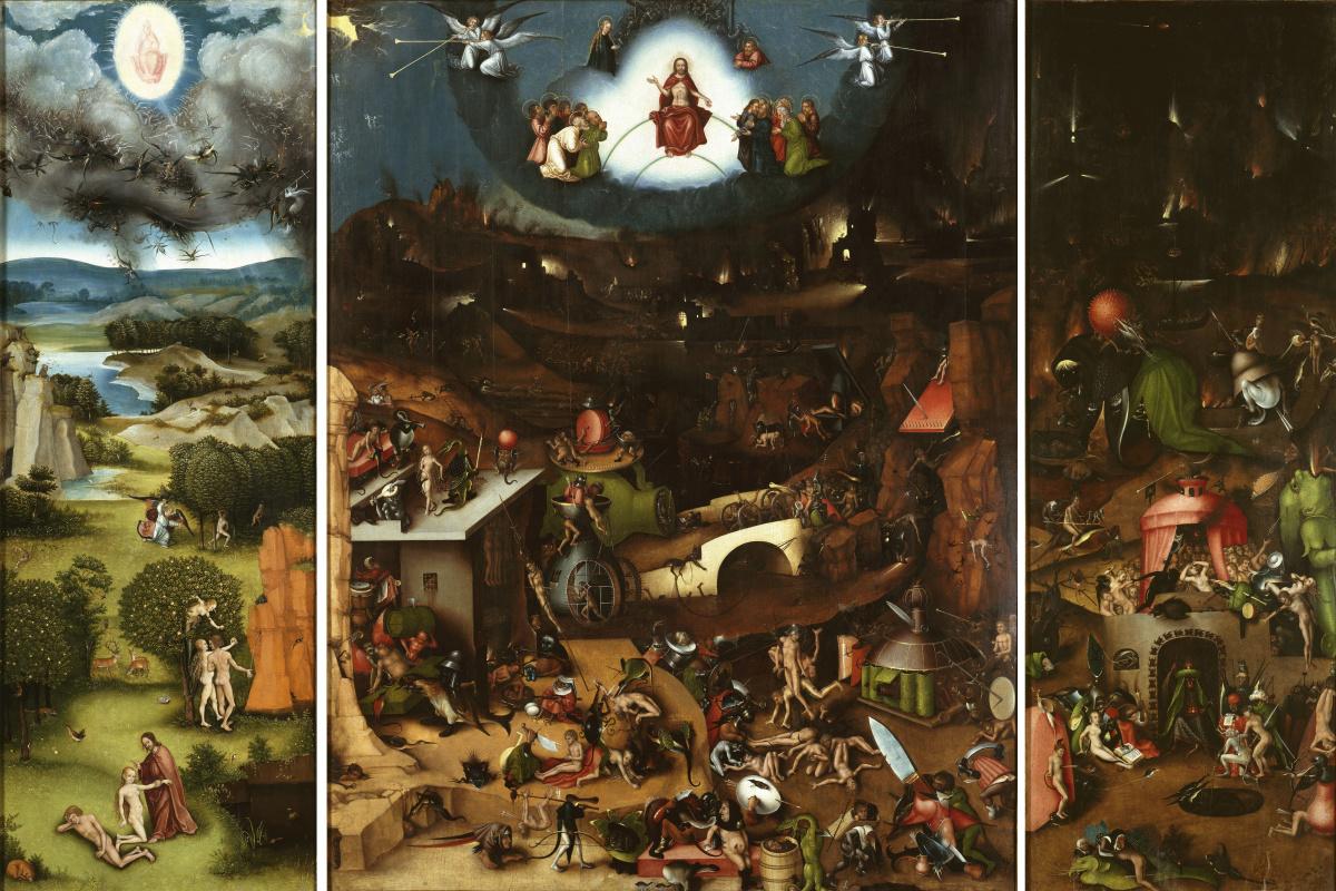 Hieronymus Bosch. Judgment