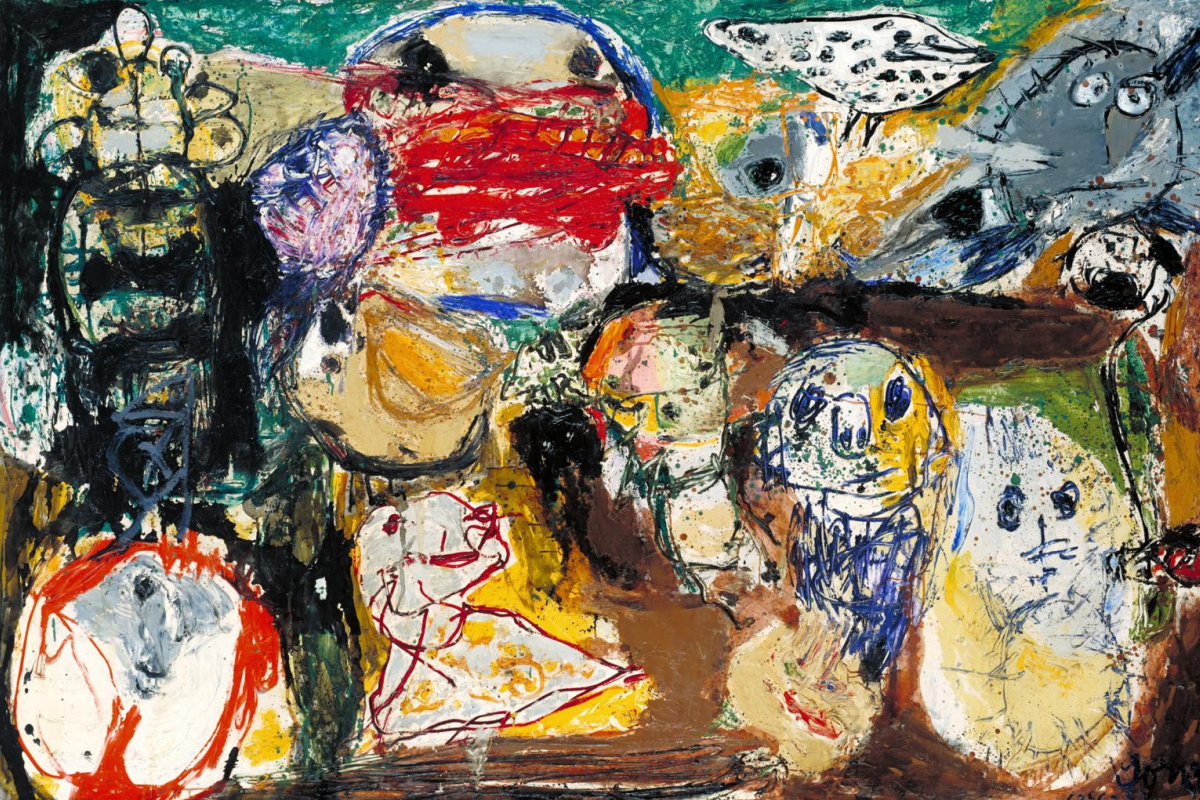 Asger Jorn. Letter to my Son