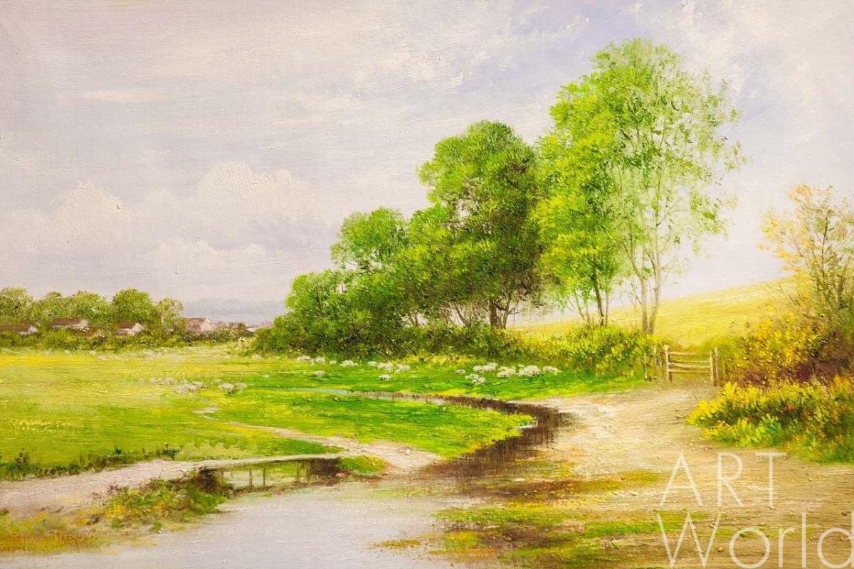 Andrey Sharabarin. Rustic pastoral