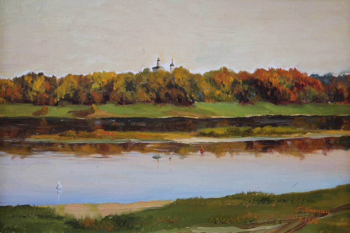 Gennady Shotovich Bartsits. Evening on the Oka River near Kasimov