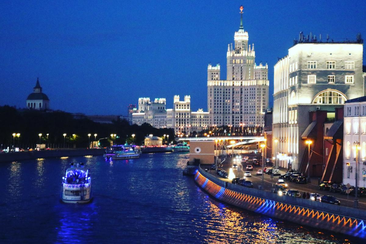 Kaoru Matsumoto. Night Moscow