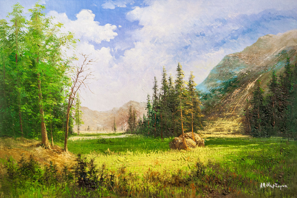 Andrey Sharabarin. In a protected area. Altai