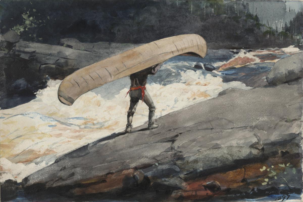 Winslow Homer. Carrying