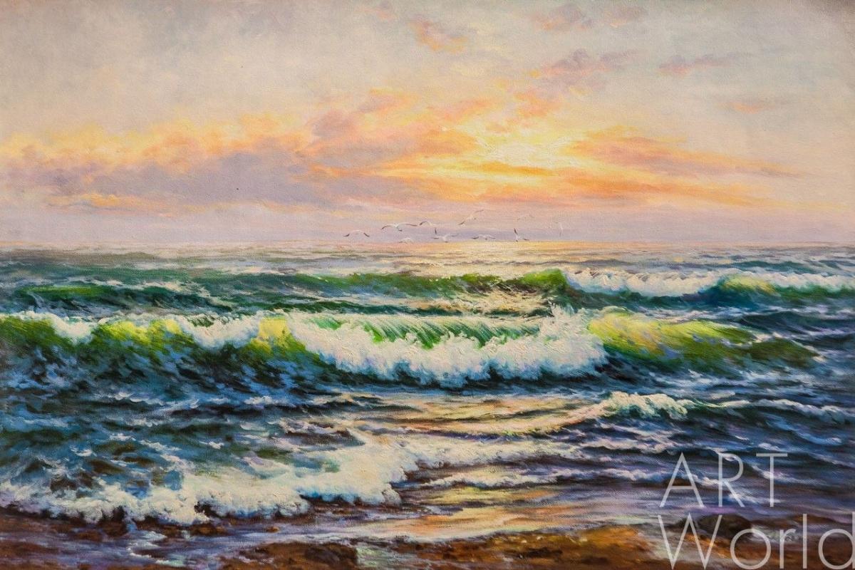 Daria Feliksovna Lagno. Azure sea, fiery distance ...