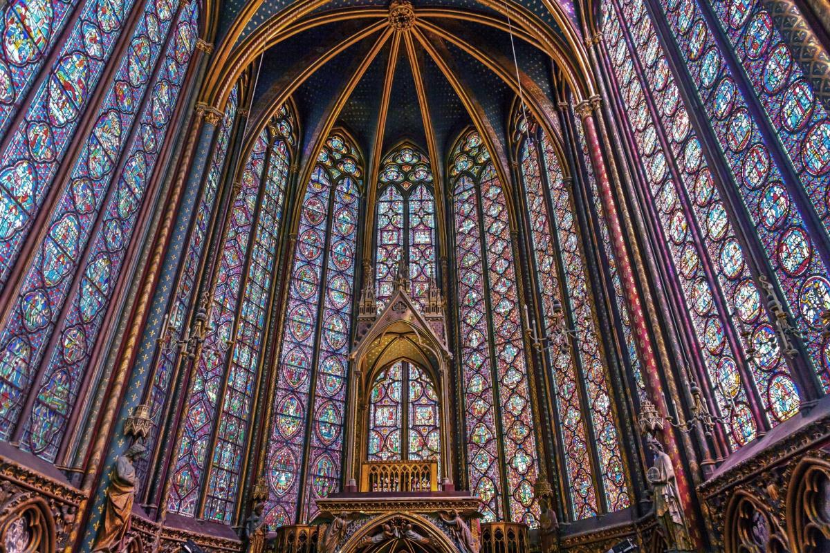Pierre Montallier. Altar of the chapel of Sainte-Chapelle
