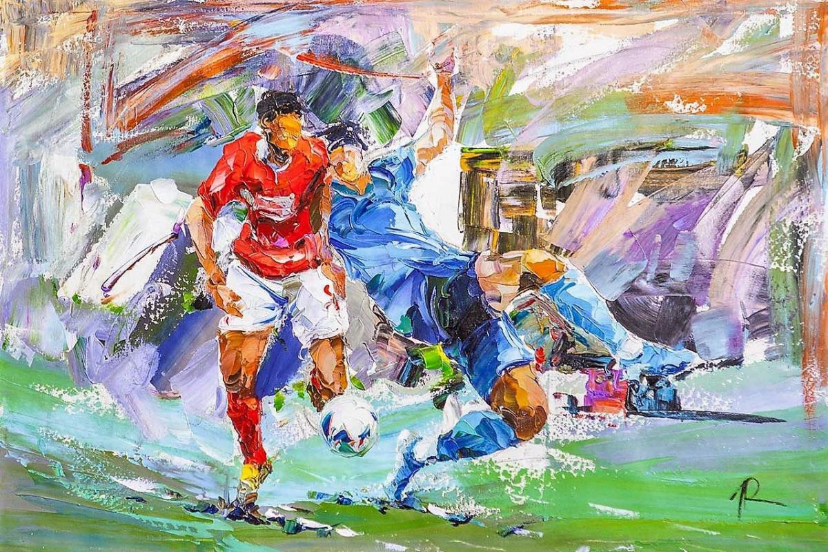 Jose Rodriguez. Football. Goal!