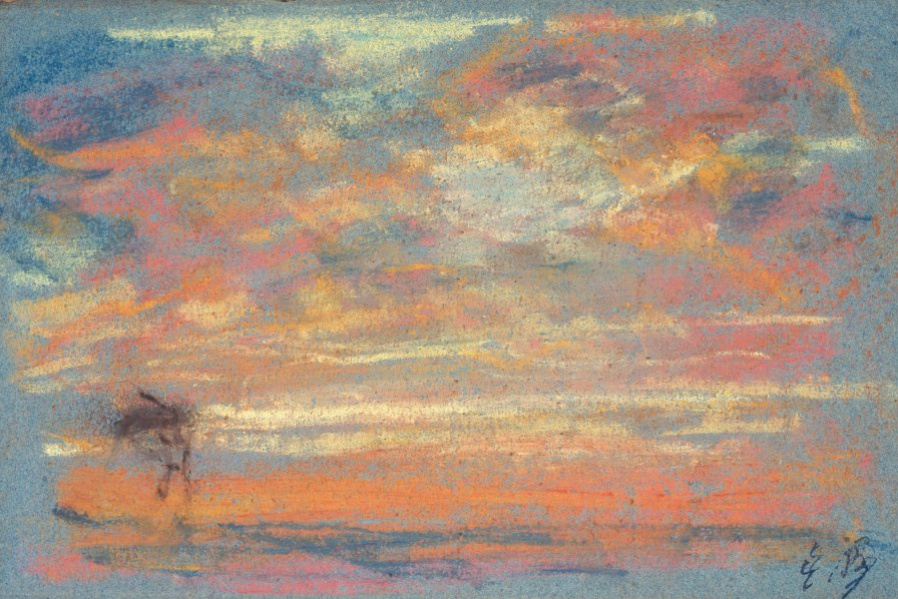 Eugene Boudin. Sky study