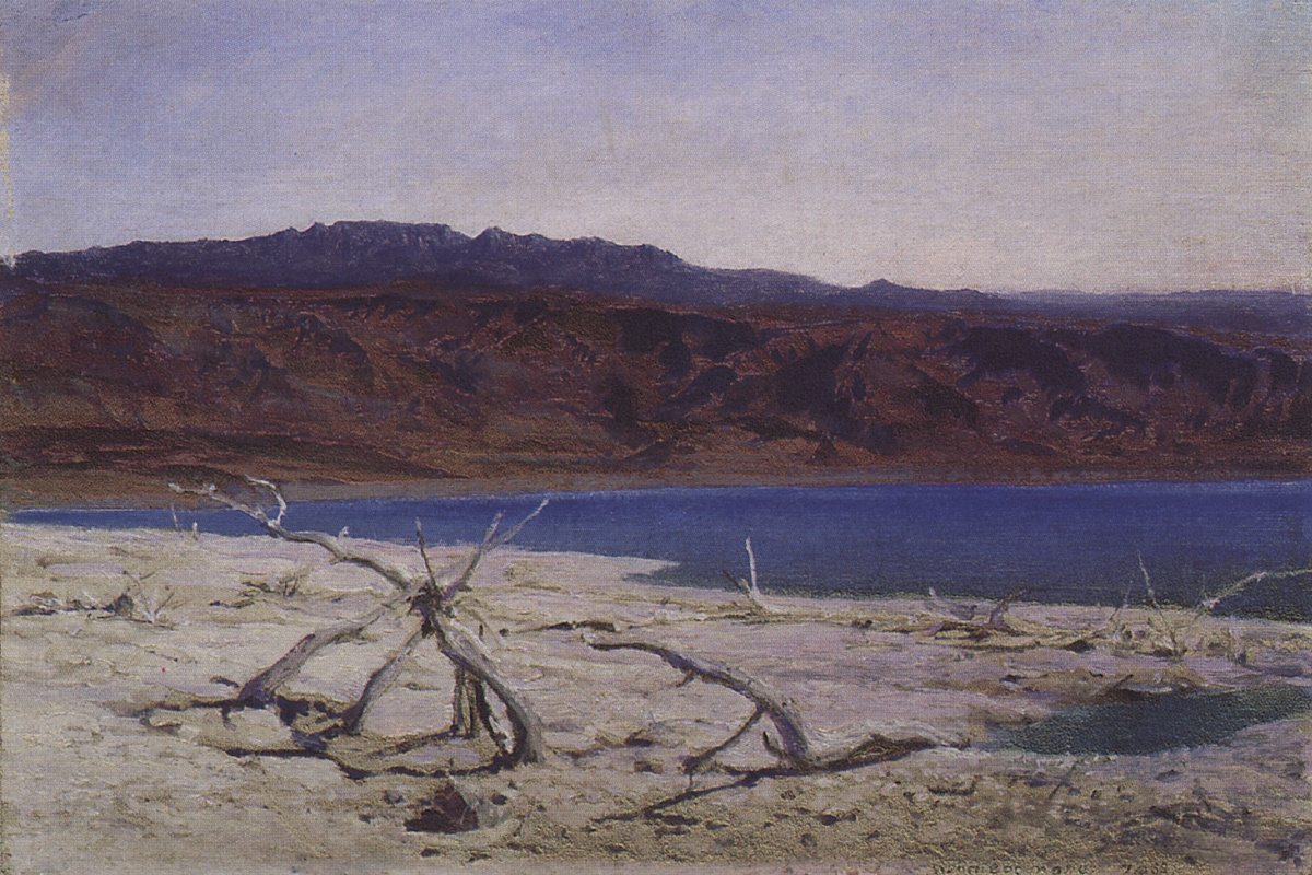 Василий Дмитриевич Поленов. Мертвое море